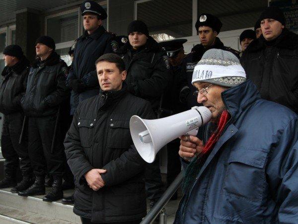 Голодающим чернобыльцам в Донецке угрожают уголовными делами - «Они ждут штурма? Не дождутся!» (фото, видео), фото-10