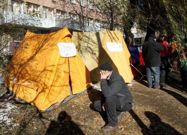 В Донецке третий день продолжается голодовка чернобыльцев (фото), фото-3