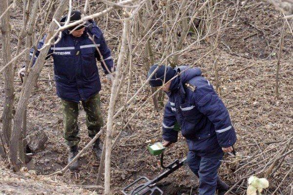 Полтавські сапери поблизу Семенівської школи знайшли фугасний снаряд (ФОТО), фото-7
