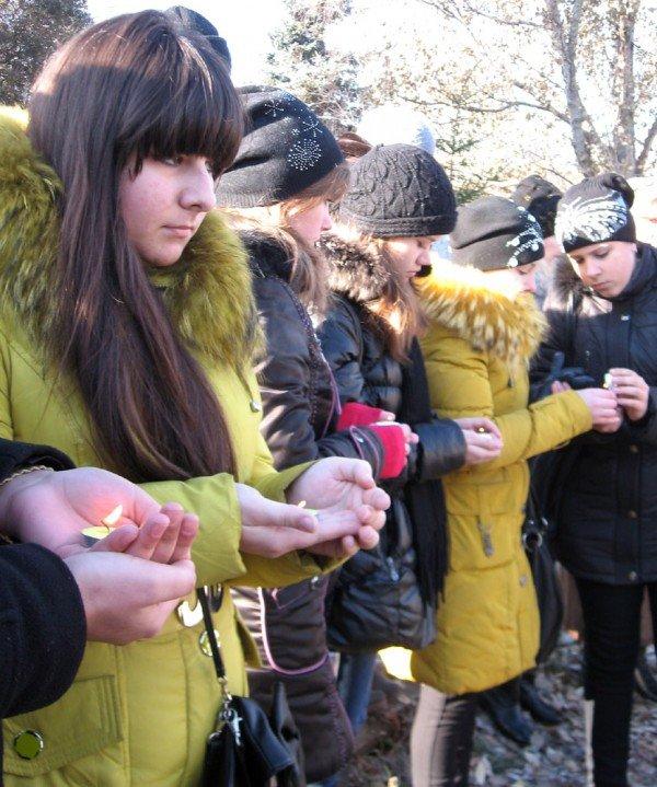 В Артемовске вспомнили о жертвах голодомора, фото-4