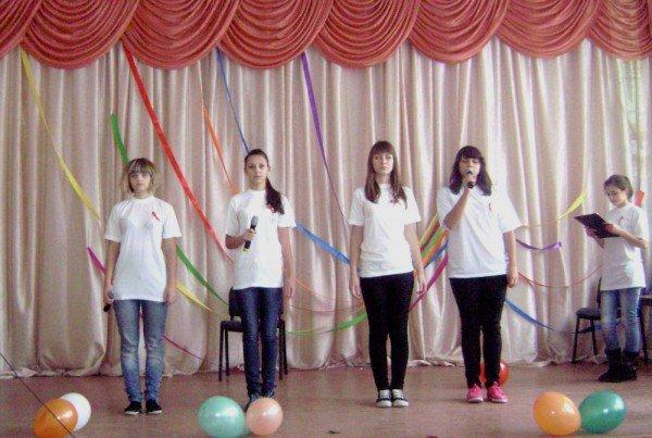 Школьники Артемовска агитировали за здоровый образ жизни, фото-2