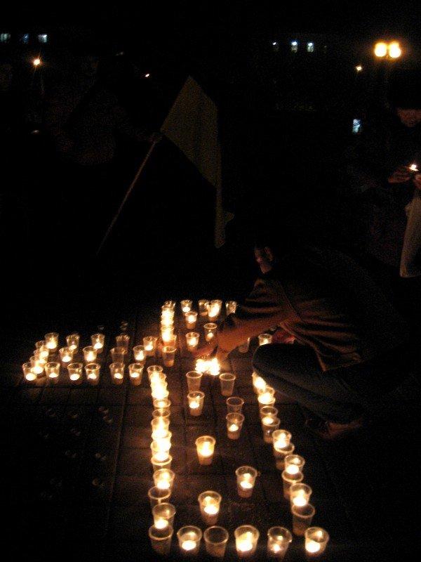 В Артемовске акция в память жертвам голодомора  закончилась панихидой, фото-2