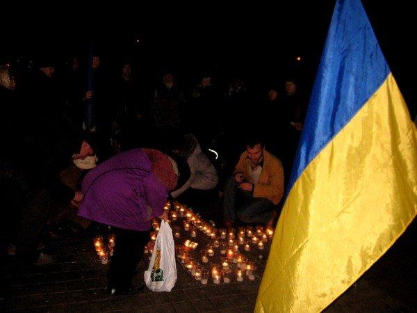 В Артемовске акция в память жертвам голодомора  закончилась панихидой, фото-3