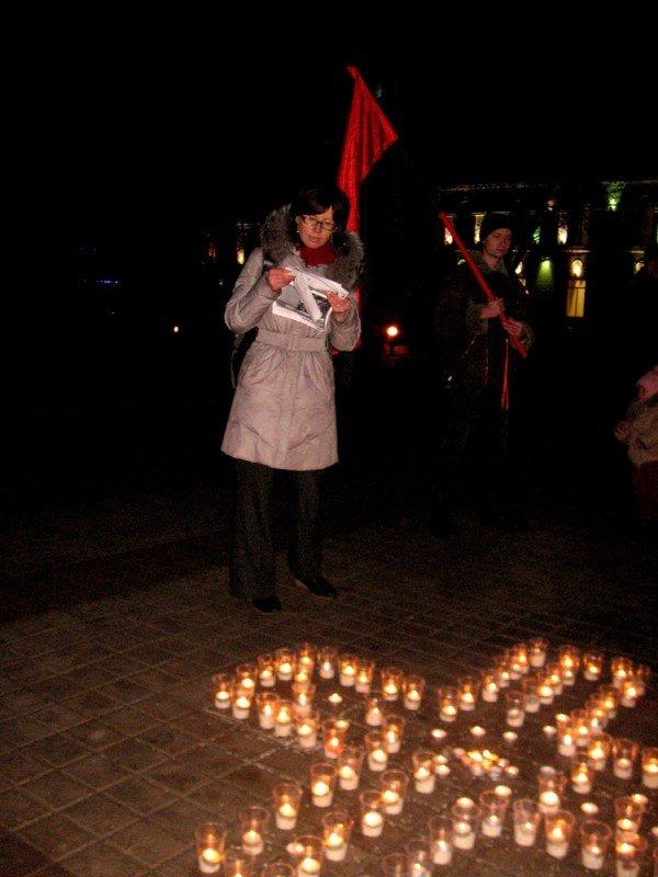 В Артемовске акция в память жертвам голодомора  закончилась панихидой, фото-6