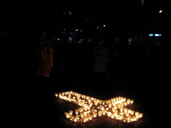 В Артемовске акция в память жертвам голодомора  закончилась панихидой, фото-8