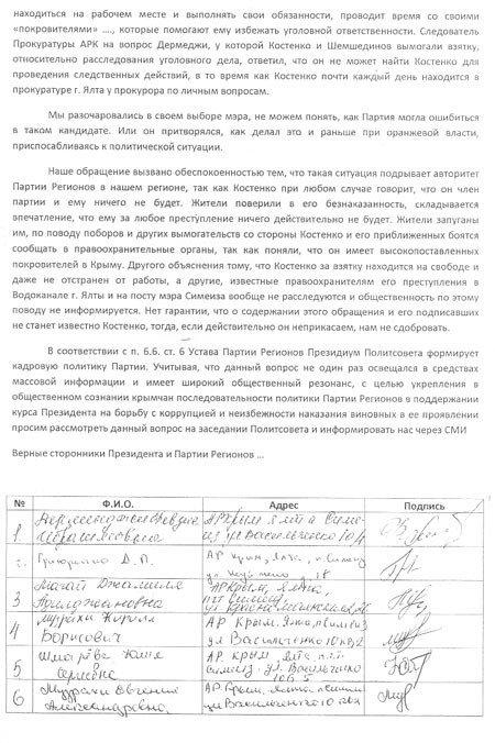 Мэру Симеиза грозит импичмент (ФОТО), фото-2