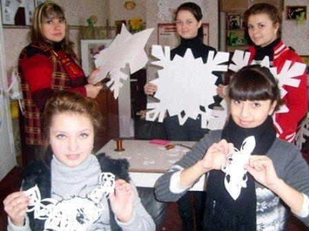В одной из горловских школ открылась «Мастерская Деда Мороза», фото-2