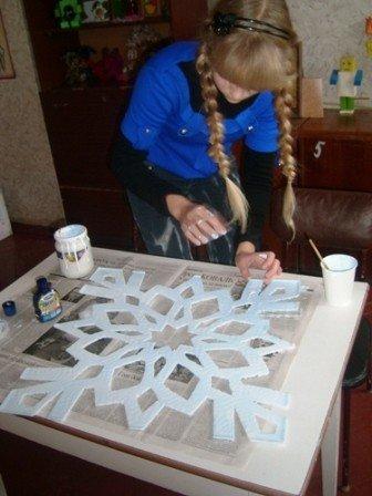 В одной из горловских школ открылась «Мастерская Деда Мороза», фото-3