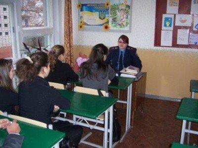 Горловскую школу № 22 навестили гости в погонах, фото-2