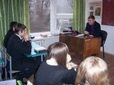 Горловскую школу № 22 навестили гости в погонах, фото-3