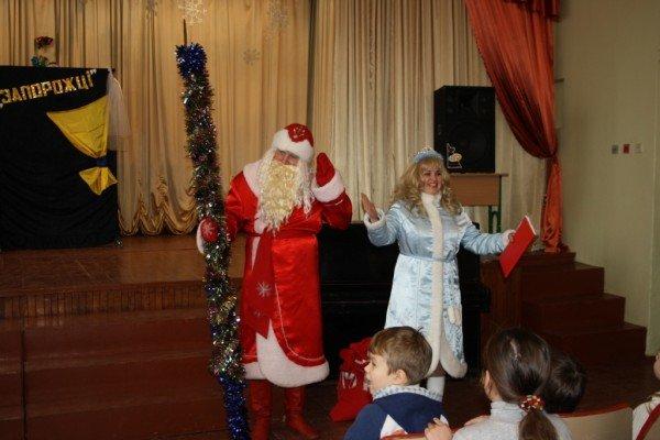 В Запорожье пожарный Дед Мороз напомнил детям о безопасности  (ФОТО), фото-5