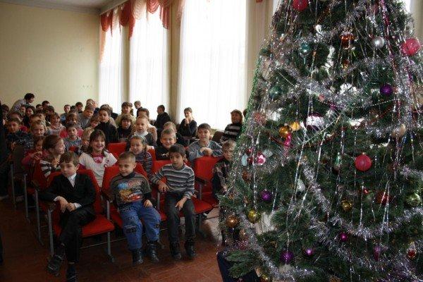 В Запорожье пожарный Дед Мороз напомнил детям о безопасности  (ФОТО), фото-6