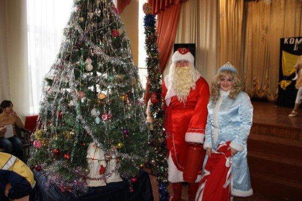 В Запорожье пожарный Дед Мороз напомнил детям о безопасности  (ФОТО), фото-8