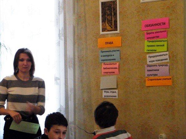 В библиотеке школьникам рассказали, что их «права не  факультативные», фото-2