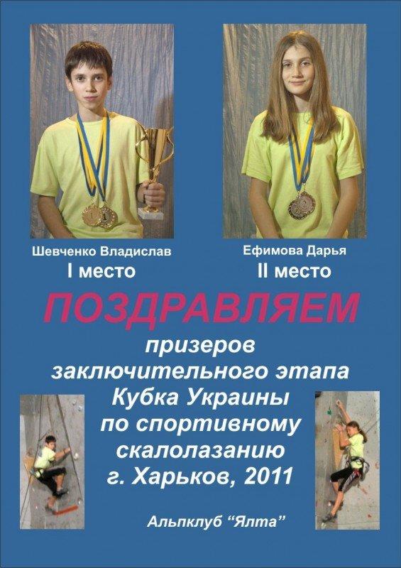 Ялтинский школьник завоевал Кубок Украины по скалолазанию (ФОТО), фото-1