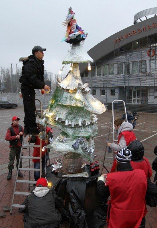 Горловские экофаны призывают отметить Новый год без елки, фото-2