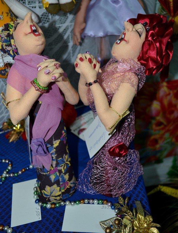 ФОТОРЕПОРТАЖ: В Запорожье открылся кукольный вернисаж, фото-6