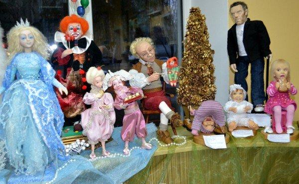 ФОТОРЕПОРТАЖ: В Запорожье открылся кукольный вернисаж, фото-8