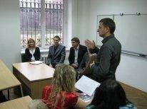Не сотвори собі кумира, але рівняйся на кращих: У Луцьку студенти зустрічались з Успіхом, фото-1
