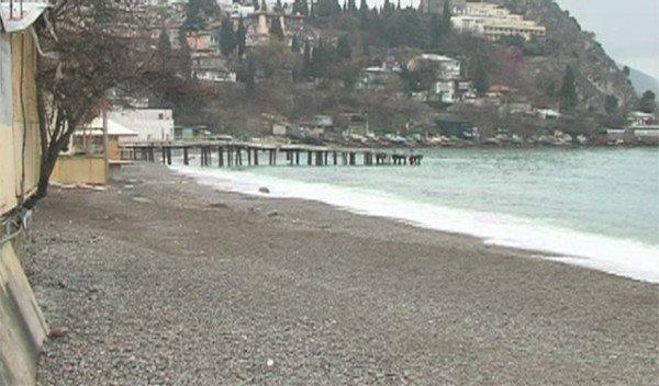 О чем краснеют пляжи Гурзуфа (ФОТО+ВИДЕО), фото-1