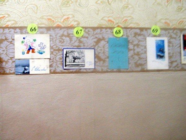 В горловской юношеской библиотеке проходит выставка раритетных открыток, фото-3
