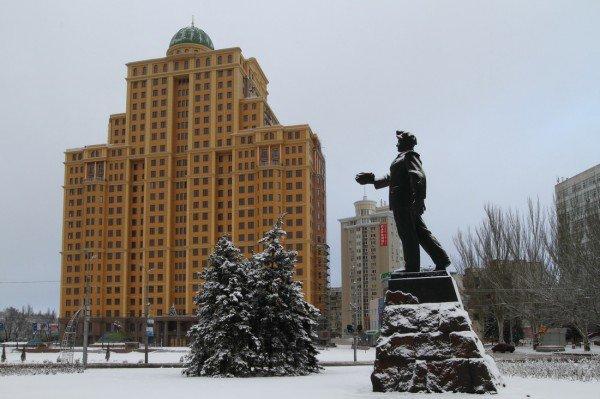 В Донецке совсем недавно была зима (фото), фото-2