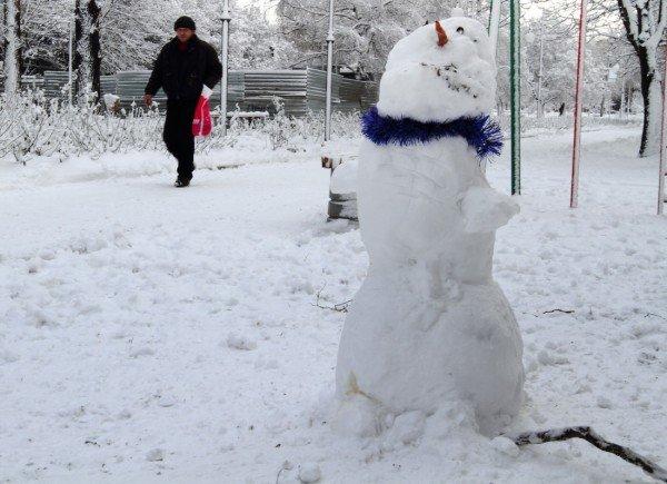 В Донецке совсем недавно была зима (фото), фото-3