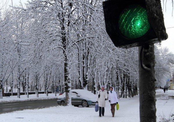 В Донецке совсем недавно была зима (фото), фото-10