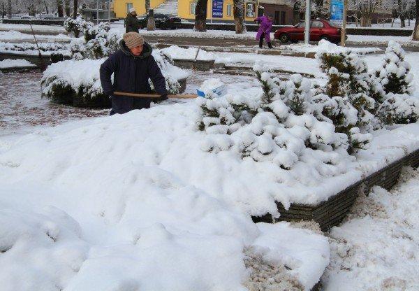 В Донецке совсем недавно была зима (фото), фото-8