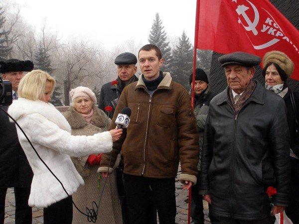 Коммунисты отметили годовщину Горловского вооружённого восстания, фото-1