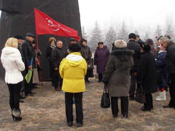 Коммунисты отметили годовщину Горловского вооружённого восстания, фото-2