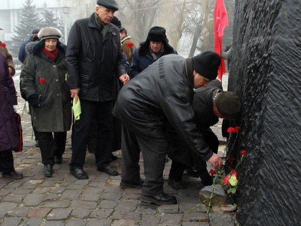 Коммунисты отметили годовщину Горловского вооружённого восстания, фото-3