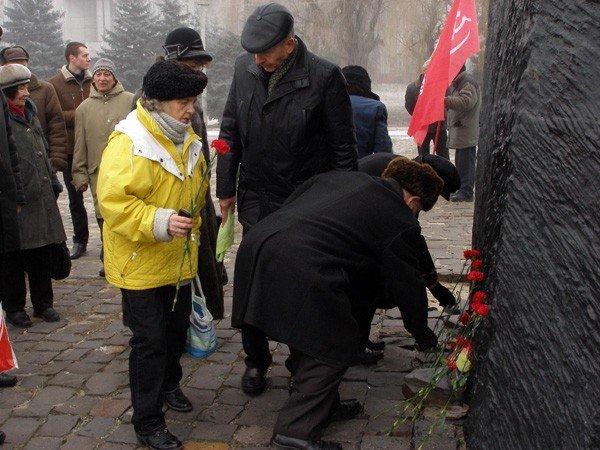 Коммунисты отметили годовщину Горловского вооружённого восстания, фото-4