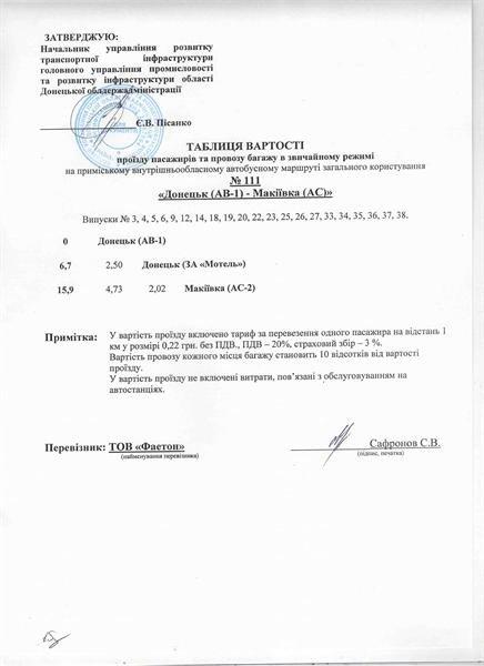 Маршрутки Донецк-Макеевка отныне обязаны останавливаться только на Мотеле и конечных остановках, фото-1