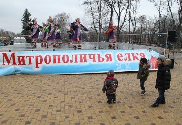 В Донецке прошла Митрополичья елка (фото), фото-2