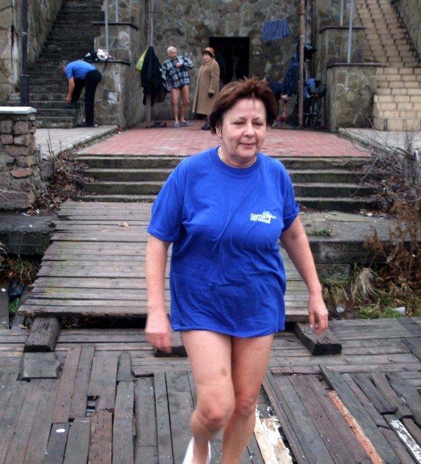 Донецкие «моржи» вынуждены купаться в «теплой» январской воде (фото), фото-4