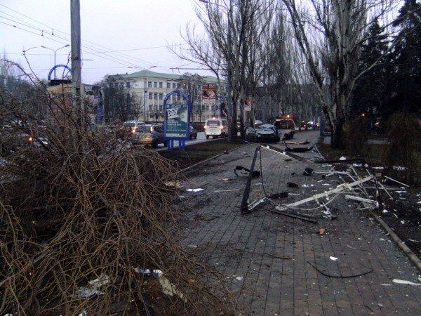 Оставшихся в живых пассажиров «Шевроле» пришлось «выковыривать» после жуткого ДТП в центре Донецка (фото), фото-3