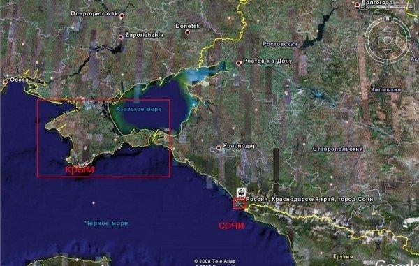 Обломки российской космической станции могут упасть недалеко от Крымского полуострова, фото-1