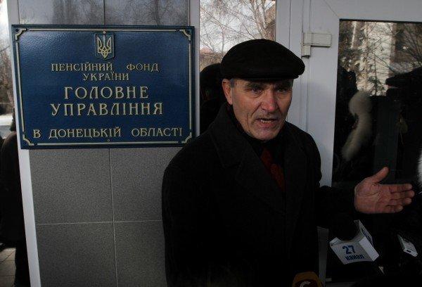 Донецкие чернобыльцы вновь требуют к себе Азарова, который «украл» их пенсии (фото), фото-4