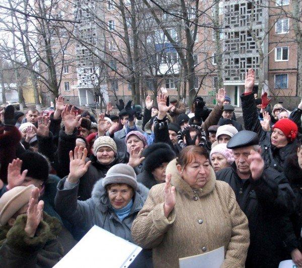 Дончане вышли на митинг протеста против незаконного строительства (фото), фото-4