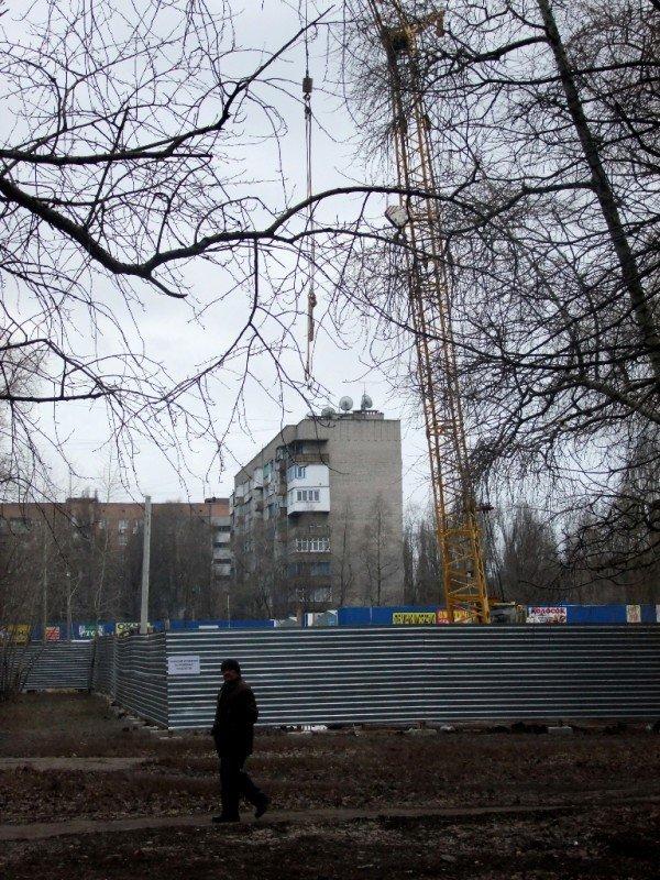 Дончане вышли на митинг протеста против незаконного строительства (фото), фото-7