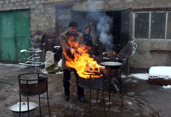 В Донецке прошел фестиваль Гильдии кузнецов (фото), фото-7