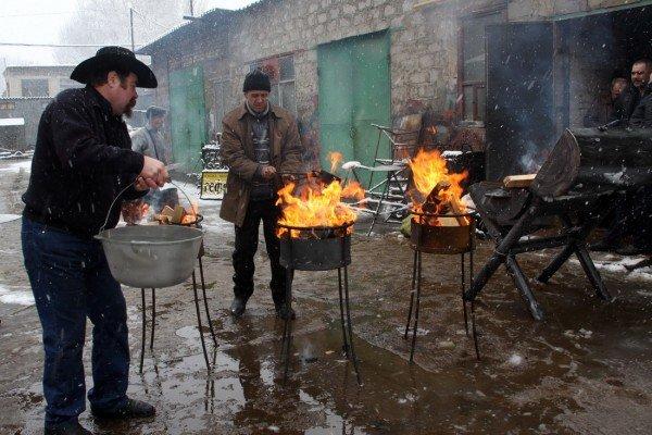 В Донецке прошел фестиваль Гильдии кузнецов (фото), фото-8