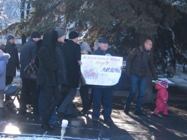 Мариупольцы потребовали от Ахметова дать им возможность дышать (ФОТО), фото-7