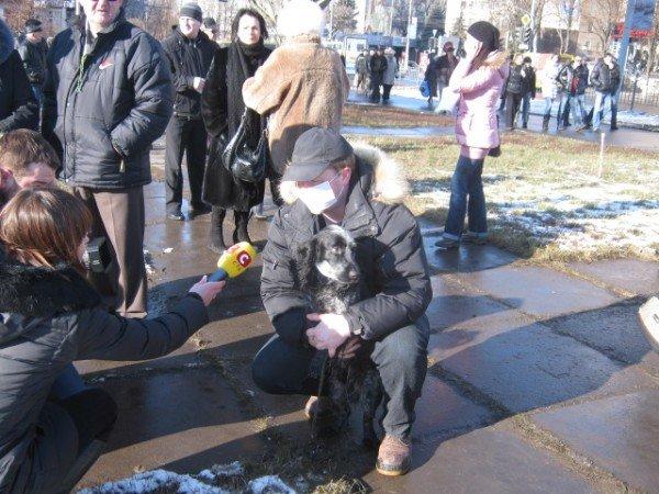 Мариупольцы потребовали от Ахметова дать им возможность дышать (ФОТО), фото-6