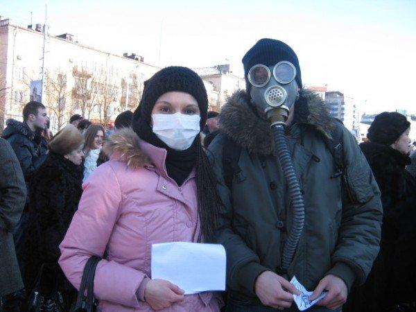 Мариупольцы потребовали от Ахметова дать им возможность дышать (ФОТО), фото-4