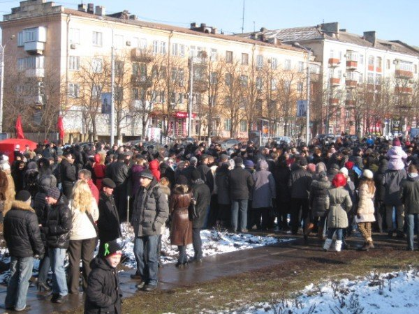 Мариупольцы потребовали от Ахметова дать им возможность дышать (ФОТО), фото-1