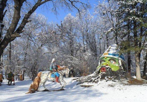 Зимняя сказка в Симферополе (фото), фото-11