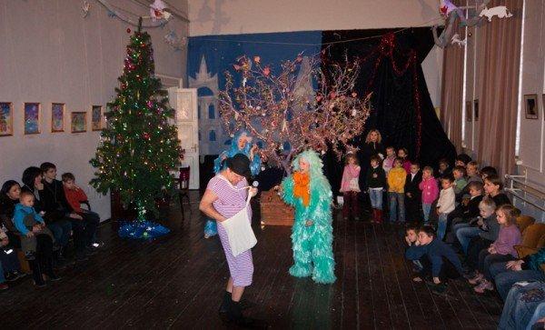 В Запорожье театр «Vie» показал благотворительный спектакль для детей  (ФОТО), фото-3