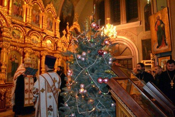 В Свято-Николаевском кафедральном соборе прошел вечер колядок, фото-1